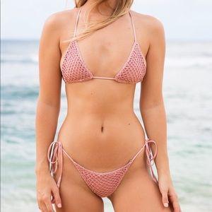 acacia swimwear Swim - Acacia Swimwear Crochet Bikini